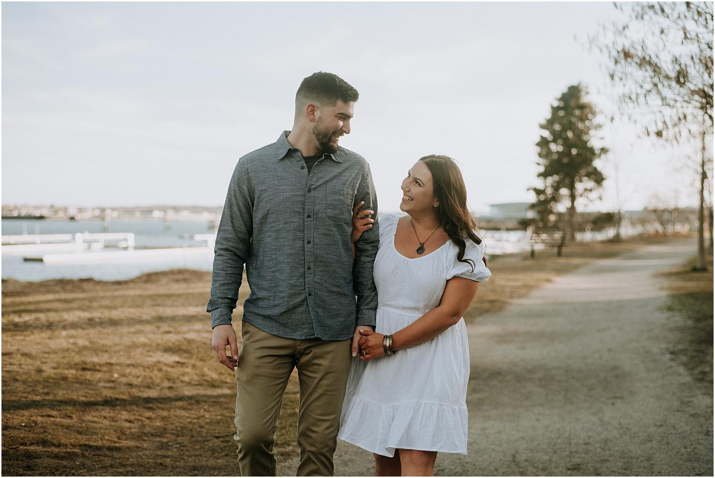 Portland Maine Engagement Session
